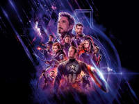 Avengers End Game Review Poster Image All Characters