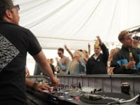 The Party on the River Returns DJ Booth