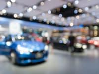 London Classic Car Show 2019 Blurred Cars Image