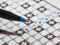 Where The Grass Is Greener Crossword Puzzle and Pen