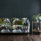 Ambassador XL Sofa Botanical Velvet Landscape sexmps