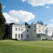 Coworth Park exterior from croquet lawn pcyxqd