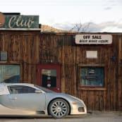 Cars as Art Silver Bugatti Veyron