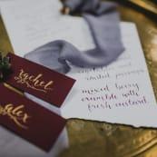 Wedding Fashion Trends Awesome Autumn White Olive Design Studio Deep Purple