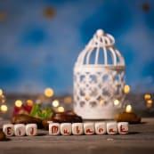 Eid Street Party Eid Mubarak Candlelight Letter Blocks