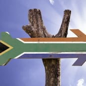 Review Durban Spice South African Wooden Flag Arrow