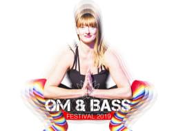 Om & Bass Rachel Yoga Festival Logo