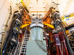 UK Atomic Energy Authority The tokamak outside