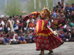 Bhutan Kingdom of the Sky ceremony dance