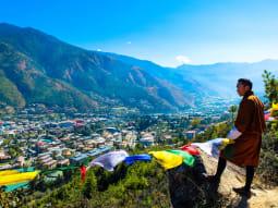 Bhutan Kingdom of the Sky valley