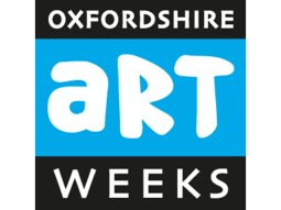 Colourful Countdown to Christmas Oxfordshire Artweeks Logo