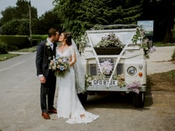 Real Wedding Tim and Viv Wedding Car