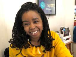 Evolving Amantha Edmead Headshot Smiling