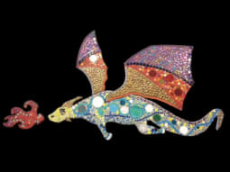 The Art of Wellbeing Dragon Mosaic