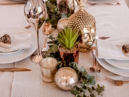 Wedding Fashion Trends Awesome Autumn Golden Table Display