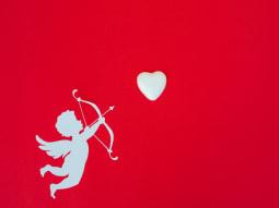 Singles Awareness Day Cupid