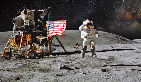 Moon Landing photo oyrxu3
