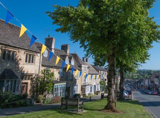 Gateway to the Cotswolds Burford in the Summer