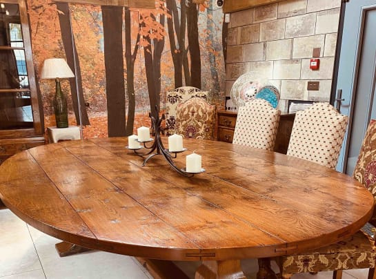 Large oval refectory table Sale May 2021