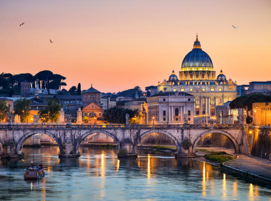Rome cityscape high res