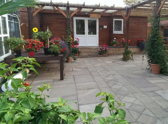 Edible Ornamentals Chill Ranch Outdoor Area