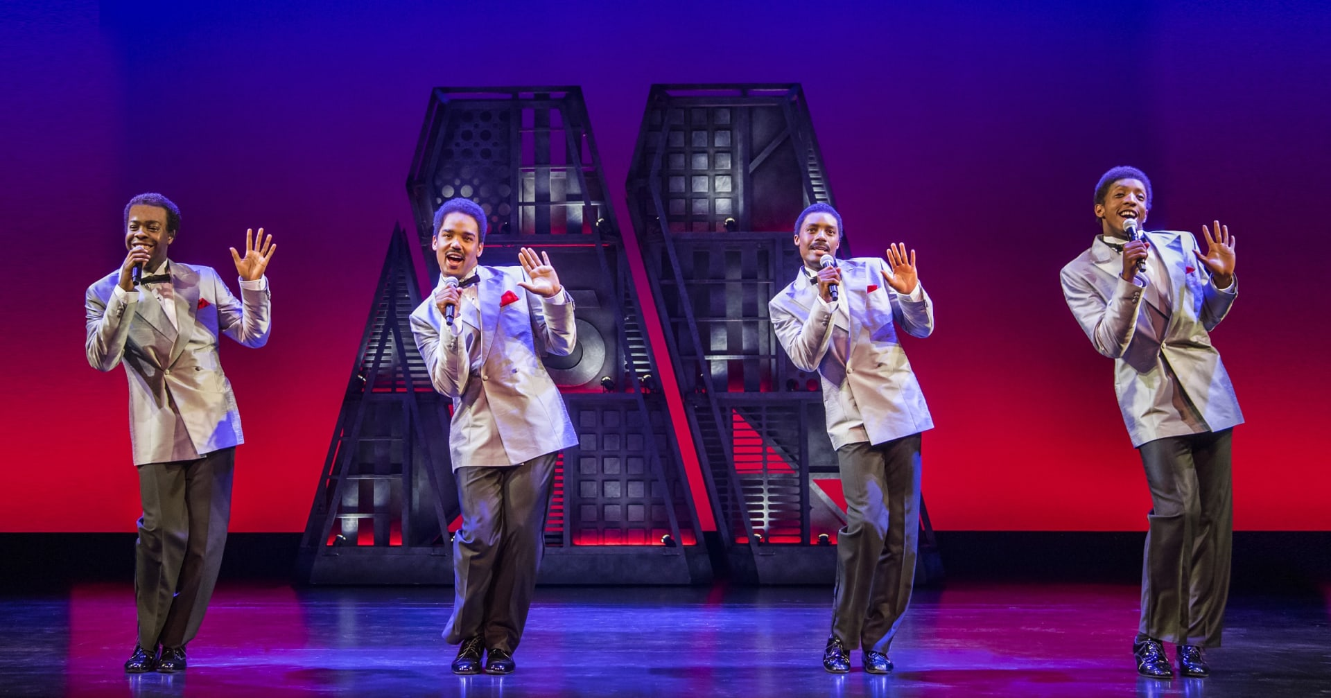 1. MOTOWN THE MUSICAL. The Four Tops. Photo Tristram Kenton 3 zkoeea