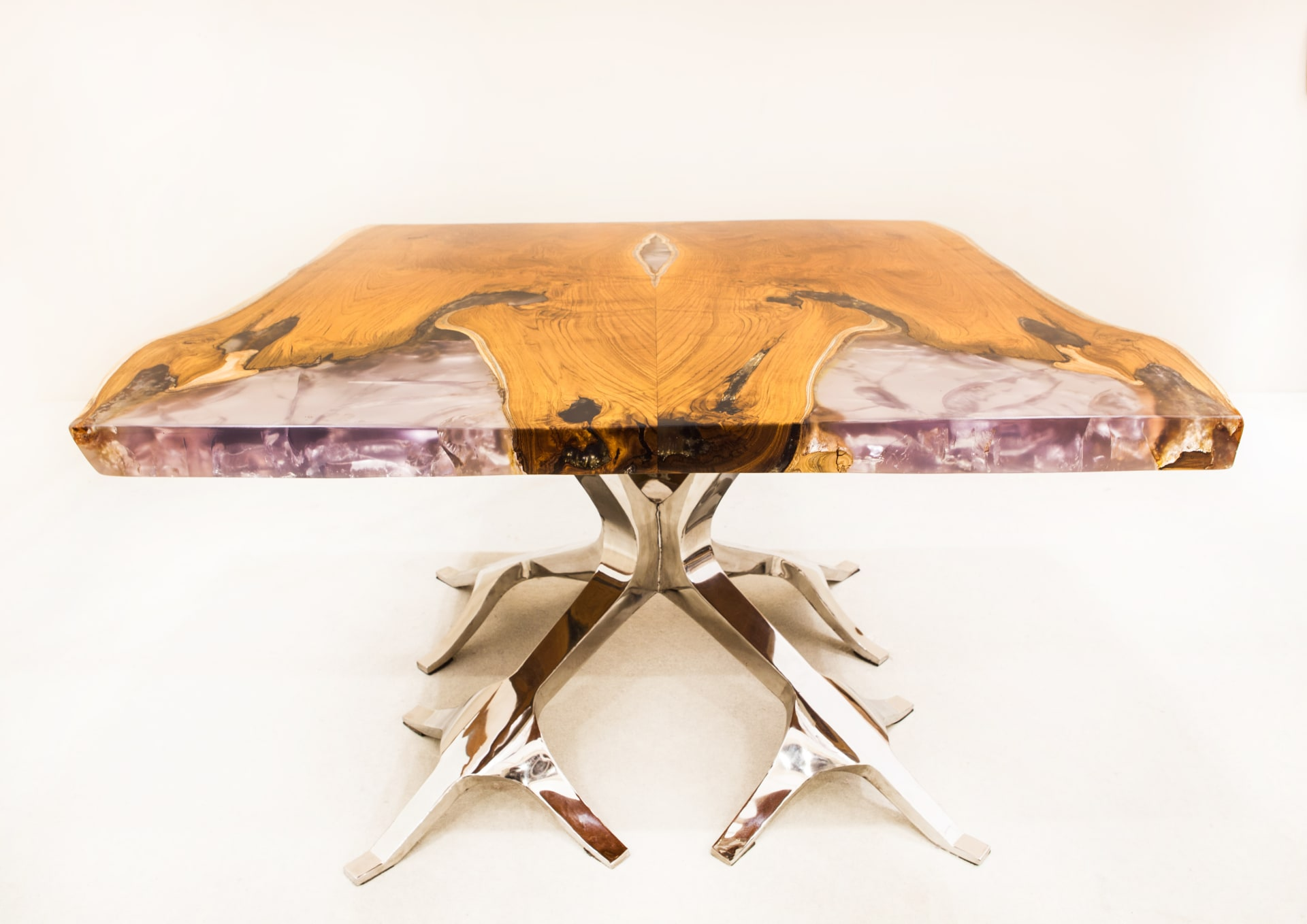 Neil Scott Bespoke Furniture Swan Card Table