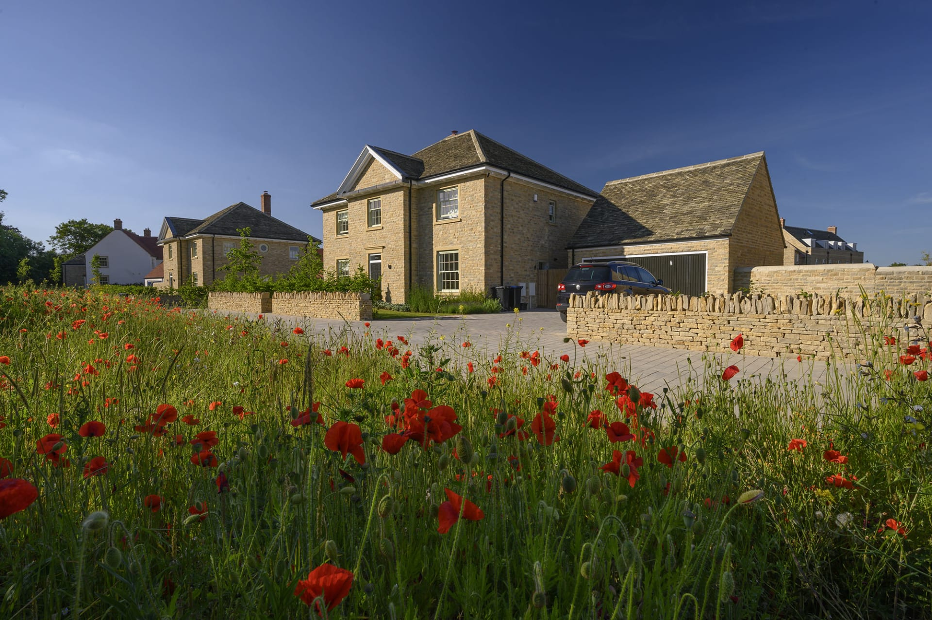 Blenheim Estate Homes Park View development where half of all the new properties are affordable homes
