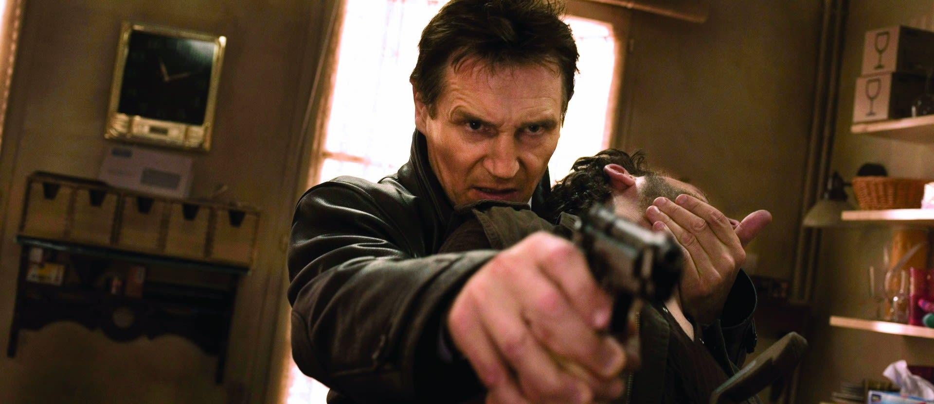 Dads on Film Liam Neeson as Bryan Mills Taken