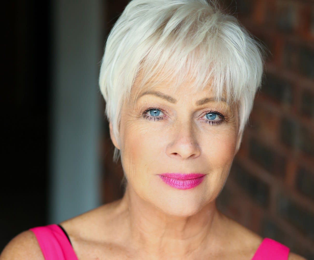 Denise Welch Head Shot Pink