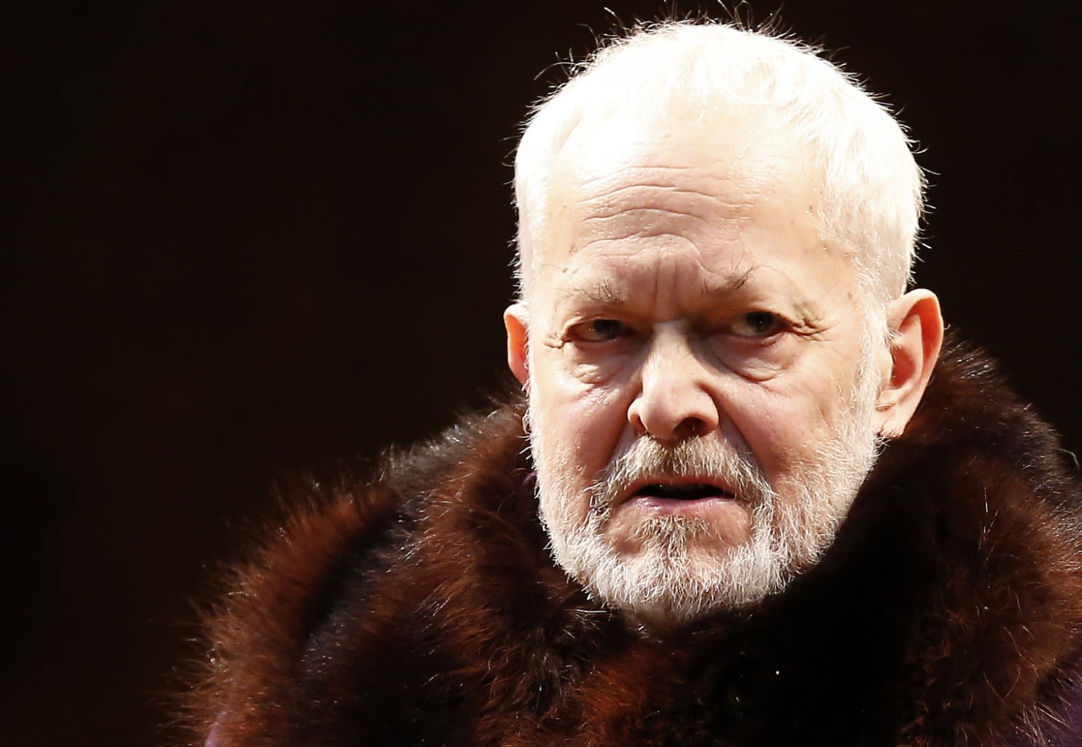 Micheal Pennington Better For Tragedy King Lear Michael Pennington face