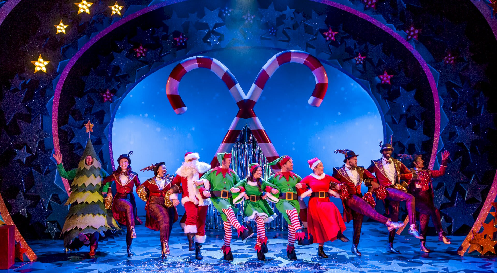 NATIVITY THE MUSICAL. The Company. Photo by Richard Davenport 2