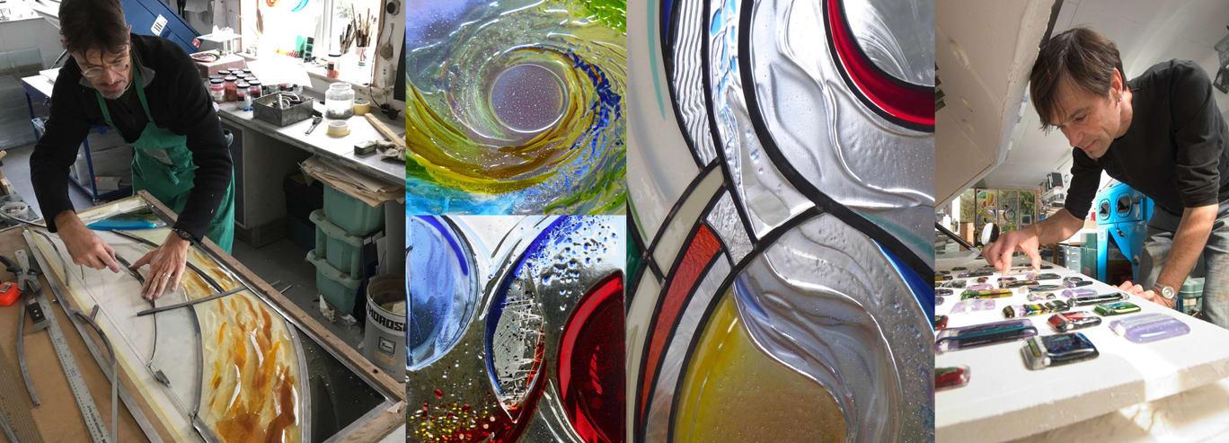 Vital Peeters At Work Glass Art