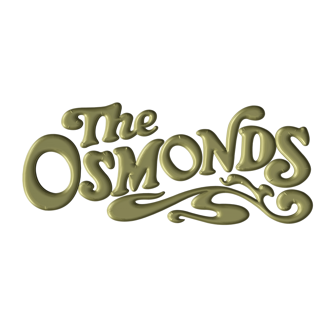 Our Songs The Osmonds Gold Lettering