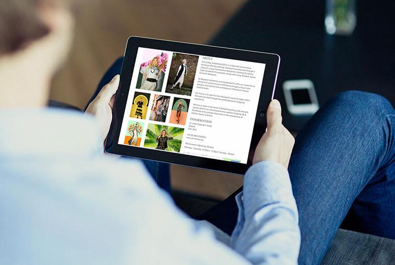 www.oxmag.co.uk iPad