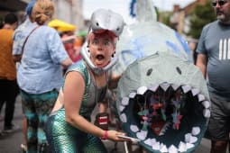 An Ode to Cowley Road Carnival Shark