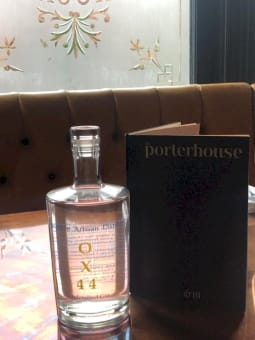 Mother's Ruin Chalgrove Artisan Distillery bottle on table