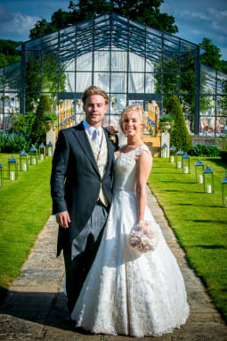 Designer Spotlight Phillipa Lepley Real Life Wedding Picture