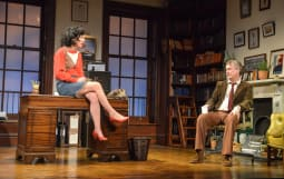 jessica johnson as rita and stephen tompkinson as frank in educating rita credit robert day 2