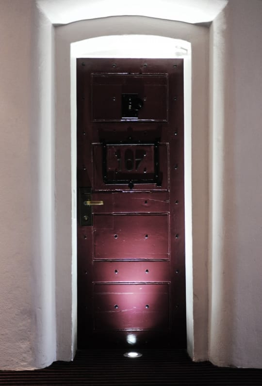 Malmaison cell door