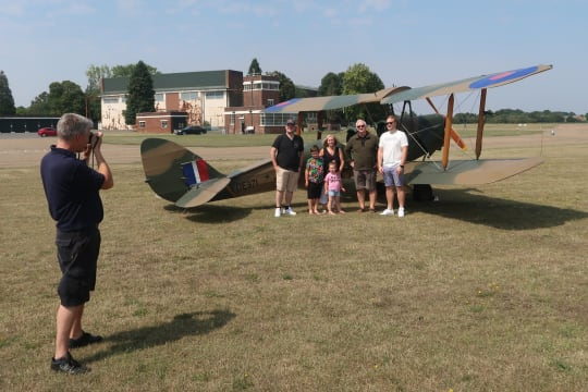 A Flight for one is a day out for the whole family j4z3ee