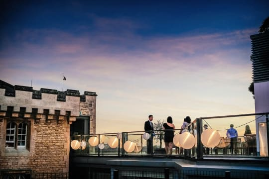 Malmaison roof terrace