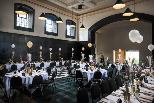 Malmaison wedding party tables