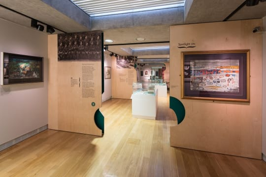 Angled Long View of Piper Gallery hires b34u45