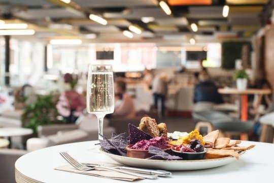 Cornerstone Arts Centre food dining