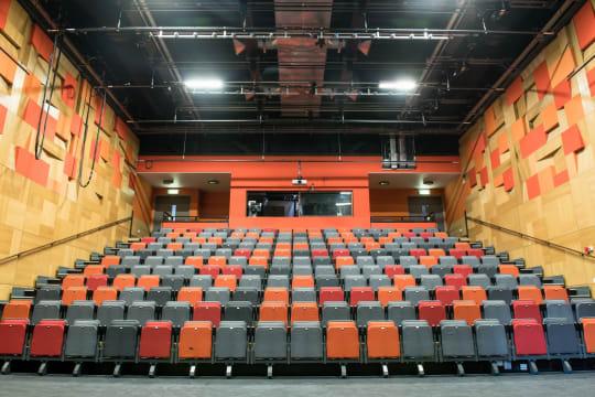 Cornerstone Arts Centre inside empty theatre