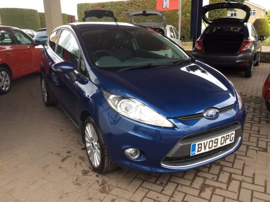 Fox Motor Company Ford Fiesta For Sale Blue