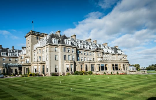 Golf Perthshire Gleneagles Hotel