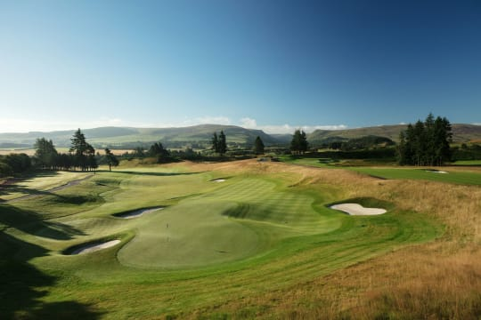 Golf Perthshire Gleneagles PGA 18th