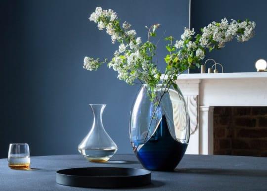 Heals slick oval vase